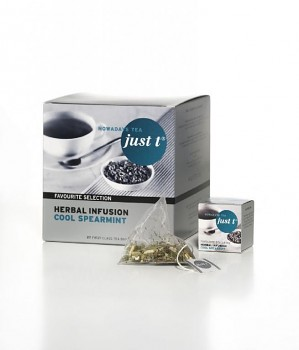 JUST-T 1st class - HERBAL INFUSION COOL SPEARMINT 27ks