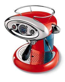 Kávovar Francis Francis X7 - červený