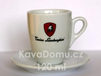 LAMBORGHINI vysoké šálky na espresso 6 x 120ml
