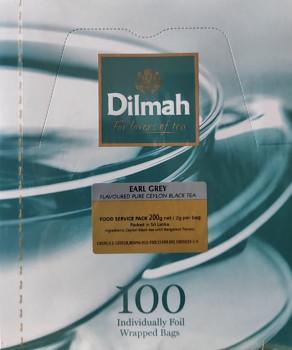 Čaj DILMAH Earl grey 100 ks
