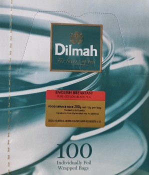 Čaj DILMAH English Breakfast 100 ks
