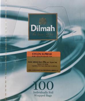 Čaj DILMAH Ceylon Supreme 100 ks