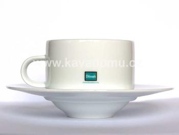 Dilmah porcelánový šálek s podšálkem 150ml