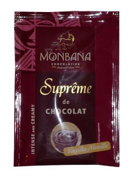 MONBANA horká čokoláda - vanilka, VÝPRODEJ