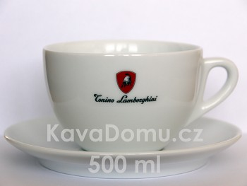 LAMBORGHINI šálek na cappuccino - jumbo 500ml