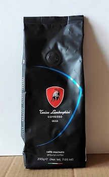 Mletá káva LAMBORGHINI bez kofeinu 200g